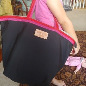 Kate Spade large tote / overnighter